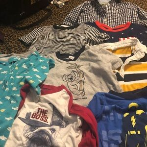 Good used condition. 8 piece Carters, Janie & Jack